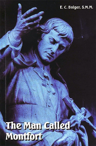 The cover of Fr. Bulger's biography of St. Louis de Montfort features the magnificent statue of our Founder that is found in St. Peter's Basilica.