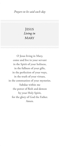 Total Consecration Bookmark (Pack of 100)
