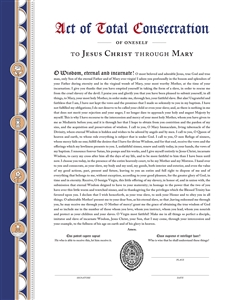 Consecration Certificate