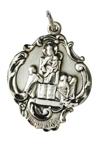 Queen of All Hearts Medal (Sterling Silver)