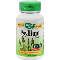 Nature's Way Psyllium Husk - 525 mg - 100 Vcaps