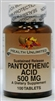 Pantothenic Acid  500mg Sustained Release