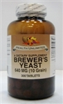 Brewer's Yeast  640mg (10 Grain)