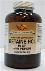 Betain HCL with Pepsin