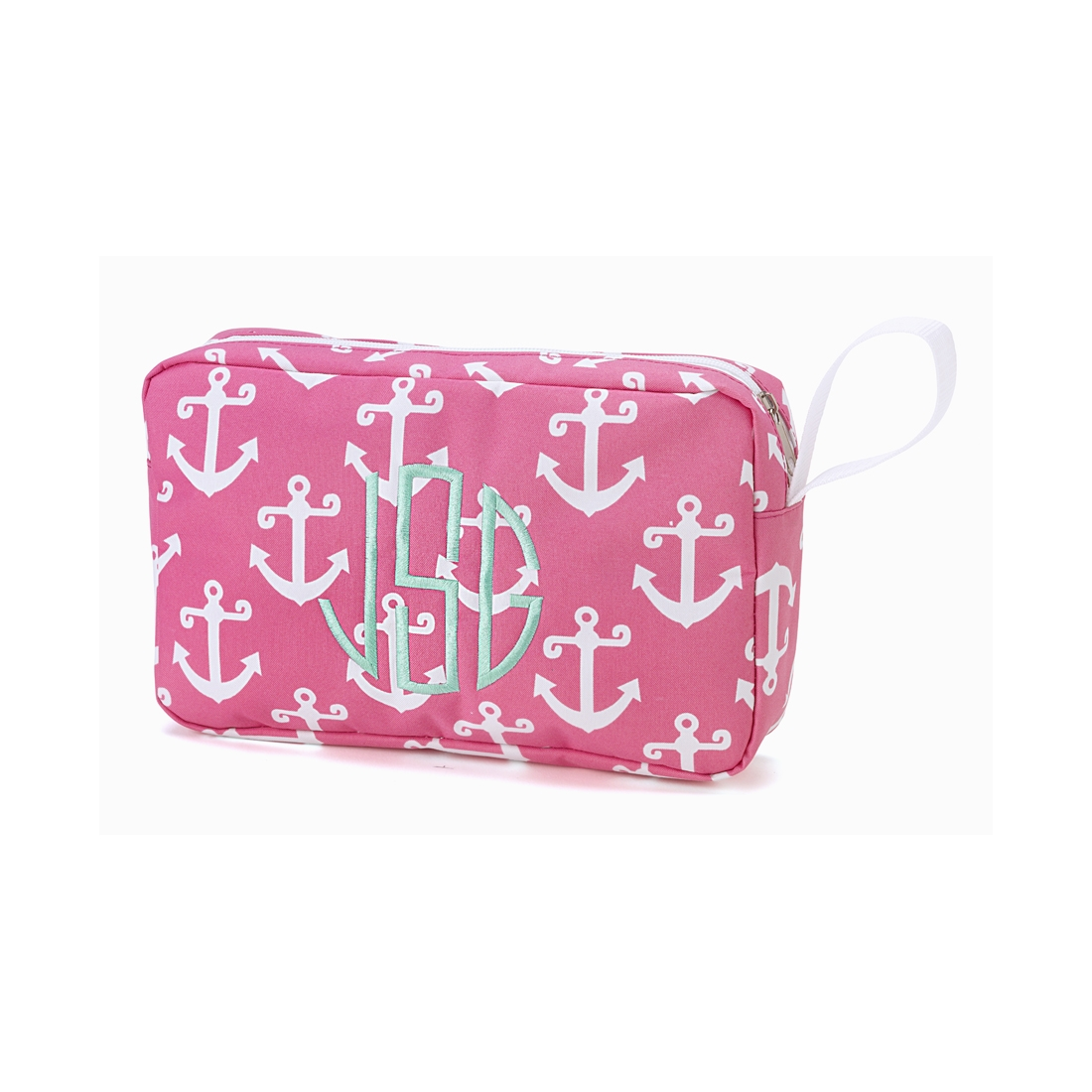 Pink Anchor Accessory Bag