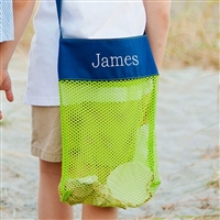 Personalized Shell Tote, Beach Shell Bag