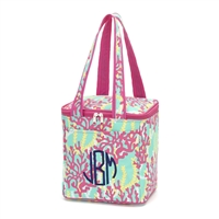 Coral Reef Cooler Tote
