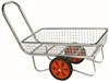 zinc garden centre trolley