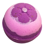 Blackberries, Raspberries, and Vanilla Bath Bomb