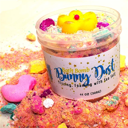 Bunny Dust Bath Bomb Powder