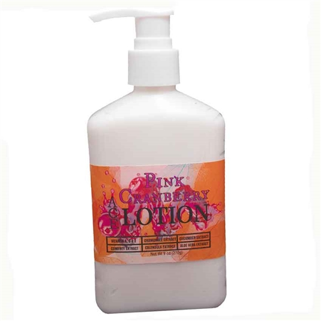 Pink Cranberry Vitamin A, C, & E Lotion