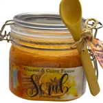 Orange & Clove Fusion Body Scrub