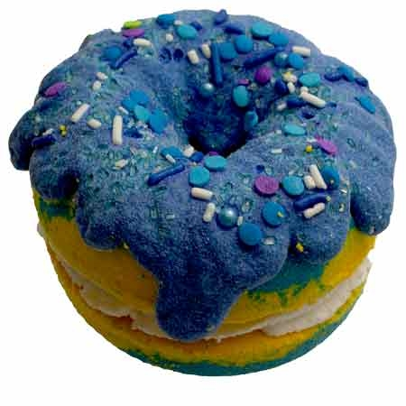 Sweet Pineapple Dream Donut Bath Bomb