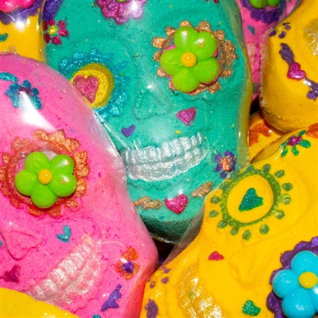 Sweet Moon Sugar Skull Bath Bombs