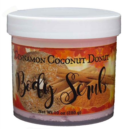Cinnamon Spiced Coconut Donut Sugar Whipped Scrub