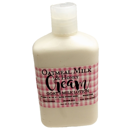 Oatmeal Goat's Milk and Honey Lotion