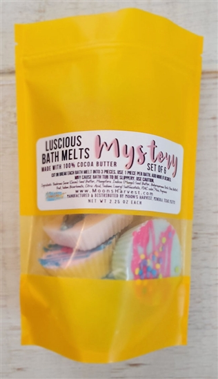 Mystery Box of 6 Luscious Bath Melts!