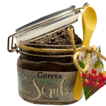 Coffee and Green Tea Body Scrub