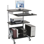 Alekto Workstation Computer Cart