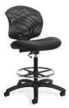 Tye Mesh Low Back Task Drafting Chair - Armless - 1924-6