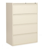 "4-Drawer 36"" W Lateral File - 1936P-4F12"
