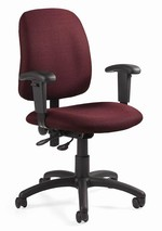 Goal Low Back Operator Chair with Arms