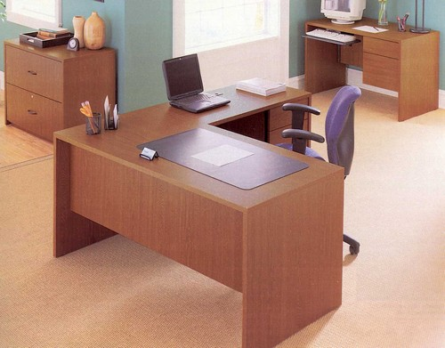 Genoa In Stock L Desk With Return R L From