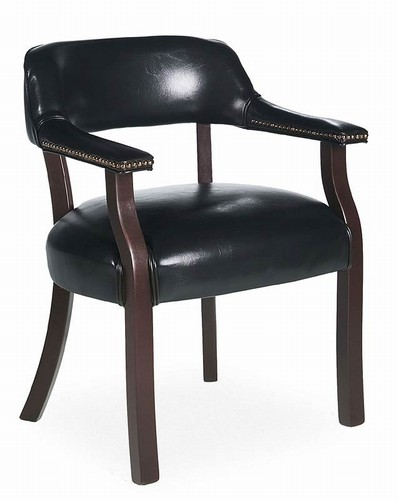 Traditional Banker Style Armchair By Global