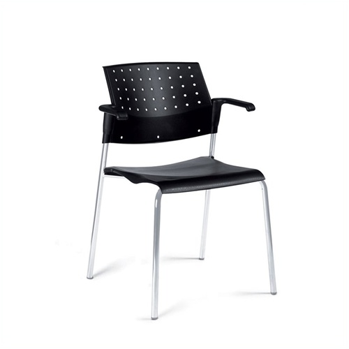 sonic stacking armchair by global