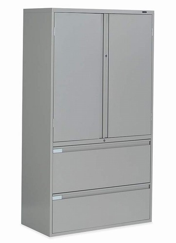 Multi-Storage and File Cabinet from Global Larger Photo Email A Friend  sc 1 st  Office Furniture Concepts & Multi-Storage and Lateral File Cabinet by Global