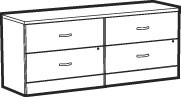 Adaptabilities Lateral File Pedestal Credenza