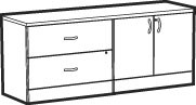 Adaptabilities Lateral File Storage Credenza