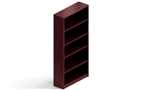 "Genoa In-Stock: 72""H Bookcase - GGHBC72"