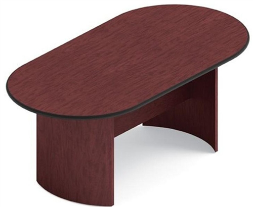 Ft Racetrack Conference Table With Arched Base By Global - 6ft conference table