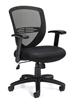 Seating to Go: Mesh Back Mangers Chair - OTG11320B