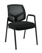 Offices to Go: Mesh Back Guest Chair - OTG11512B