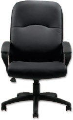 Seating to Go: Leather High Back Executive Chair