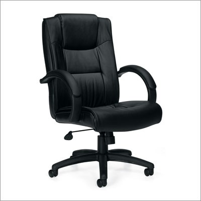 Leather Executive Chair From Global Larger Photo Email A Friend