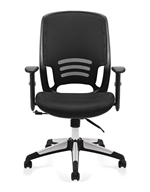 Mesh Back Managers Chair - OTG11685B