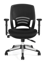 Seating To Go: Mesh Back Managers Chair by Global OTG
