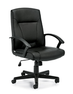 Offices to Go: Luxhide Tilter Chair - OTG11776B