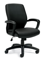 Offices to Go: Luxhide Managerial Chair - OTG11975B