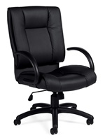Seating to Go: High Back Luxhide Executive Chair