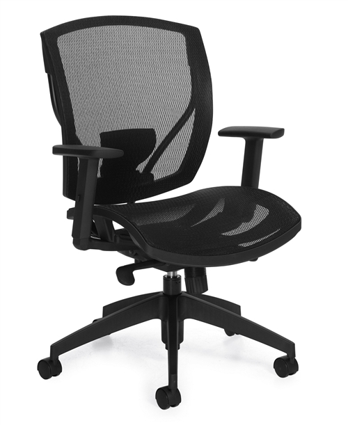 Seating to Go Mesh Seat Synchro-Tilter Chair - OTG2821  sc 1 st  Office Furniture Concepts & Seating to Go: Mesh Seat Synchro-Tilter Chair - OTG2821 from Offices ...
