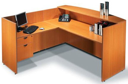 Offices To Go Reception Desk By Global