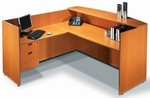 Offices To Go: Reception Desk from Global