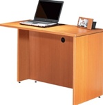 "Offices To Go: 42"" or 48"" Reversible Return Shell"