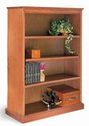 48in H Wood Bookcase