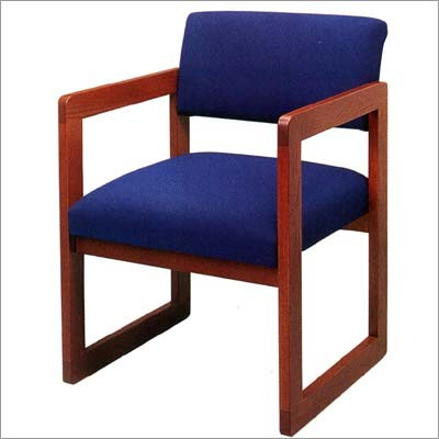 Classic Open Back Series: Sled Base Guest Chair   C1101G3