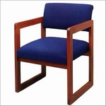 Classic Open Back Series: Sled Base Guest Chair - C1101G3